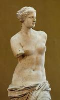 Los brazos de la Venus de Milo