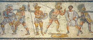 Gladiadores (mosaico)