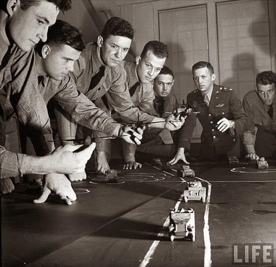 Maquetas militares de entrenamiento