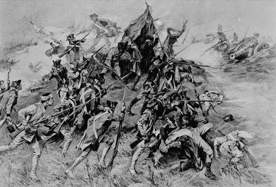 Asedio de Savannah, obra de A.I. Keller