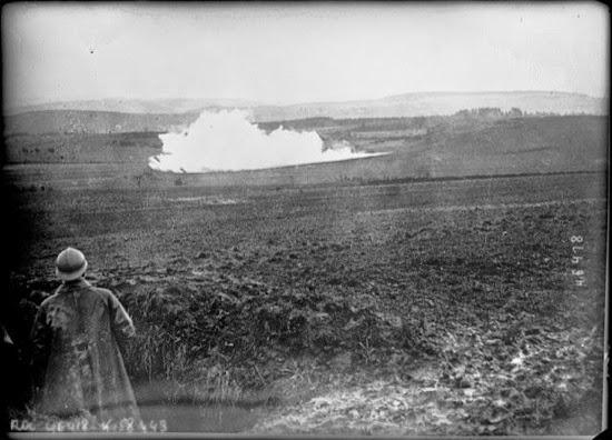 Explosión de una mina