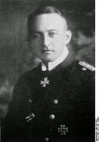 Kapitänleutnant Walther Schwieger