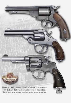 Armas fabricadas por Orbea