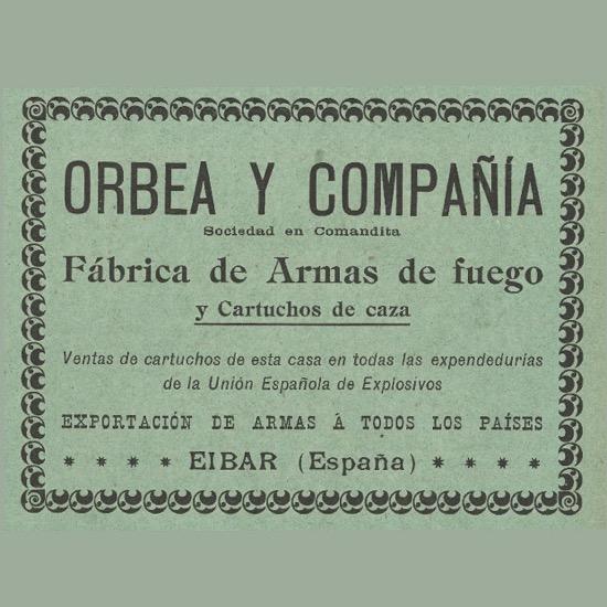 Orbea y compañía, fábrica de armas de fuego