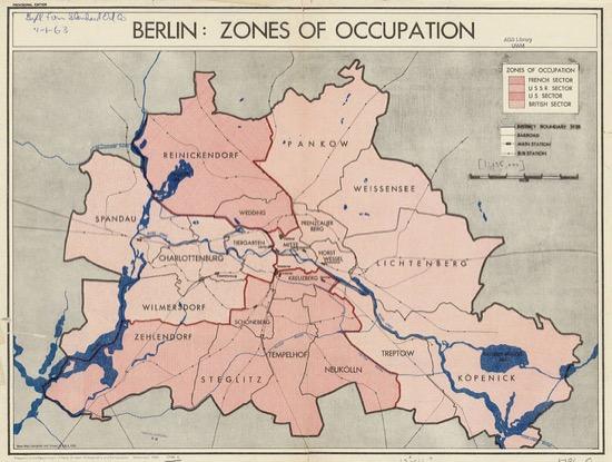 Zonas en Berlín (1945)