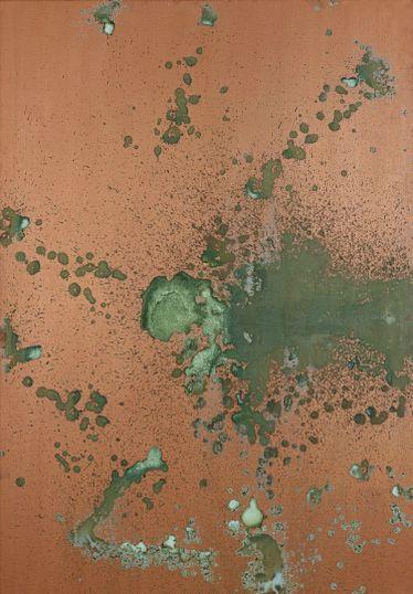 Oxidation Painting, de Andy Warhol. Creada en 1978