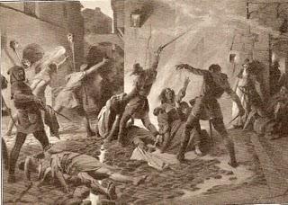 Matanza de judíos en Barcelona en 1391