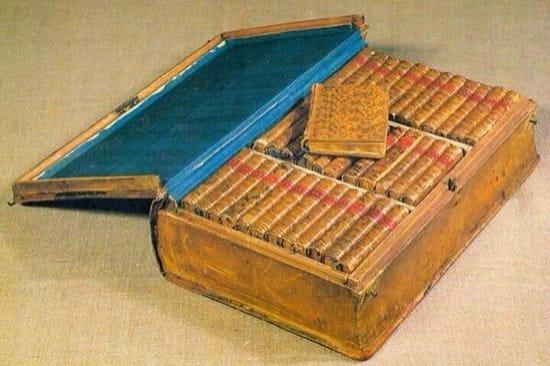 La biblioteca de viaje de Napoleón
