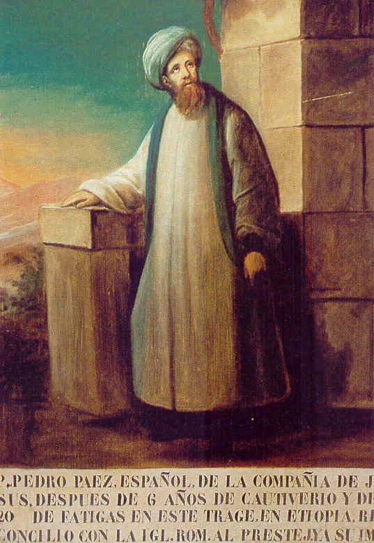 Pedro Páez, el español que fue el primer europeo en contemplar las fuentes del Nilo