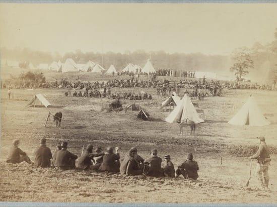 Prisioneros confederados de la batalla de Fisher's Hill