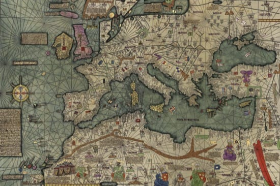 El maravilloso Atlas catalán o Mapamundi de los Cresques del siglo XIV