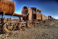 El ancho de las vías de ferrocarril en EEUU