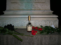 La tumba de Edgar Allan Poe