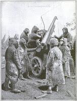 El origen del camuflaje militar