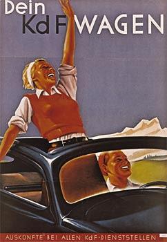 Los volkswagen y la Alemania nazi