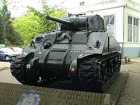Los escritos en los tanques rusos de origen americano