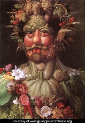 Los retratos naturales de Giuseppe Arcimboldi