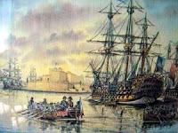 Caballeros de San Juan contra napoleónicos