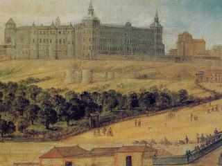El día que se quemó el Real Alcázar de Madrid