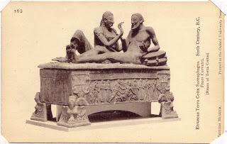 Un sorprendente sarcófago etrusco
