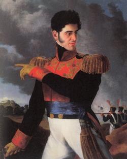 Antonio López de Santa Anna, presidente de quita y pon