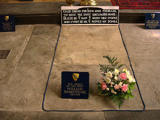 Nacimiento y muerte de Shakespeare, en dos actos