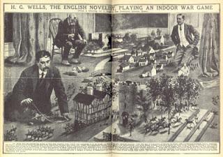Litte Wars, de Wells, el primer juego de mesa bélico
