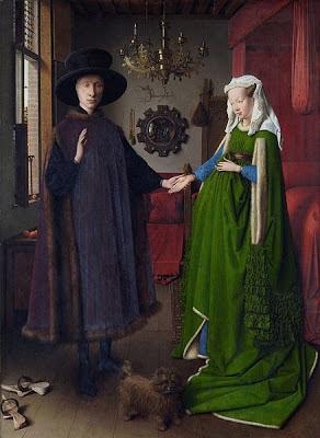 Los esposos Arnolfini, de Jan van Eyck