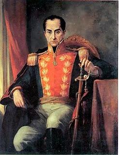 Simón Bolívar, presidente de media América