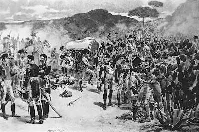 El agua y la sed en la batalla de Bailén