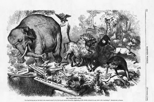 El elefante del Partido Republicano