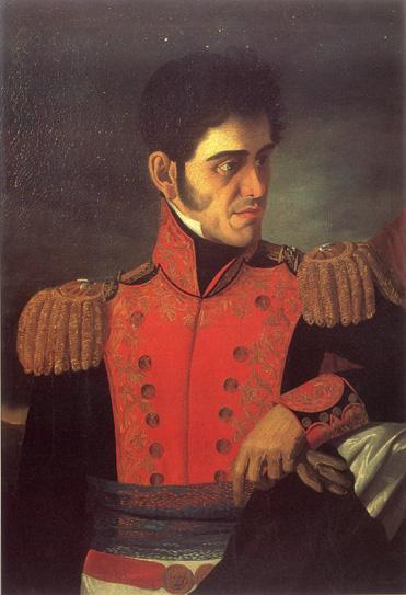 La pierna de Antonio López de Santa Anna