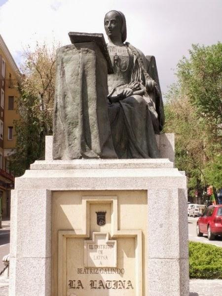 Beatriz Galindo, La Latina