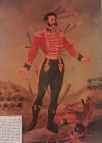 Antonio Chover, 23 heridas y un cuadro