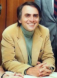 Las variadas lecturas de Carl Sagan