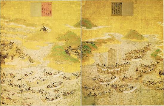 La mayor batalla naval de la historia