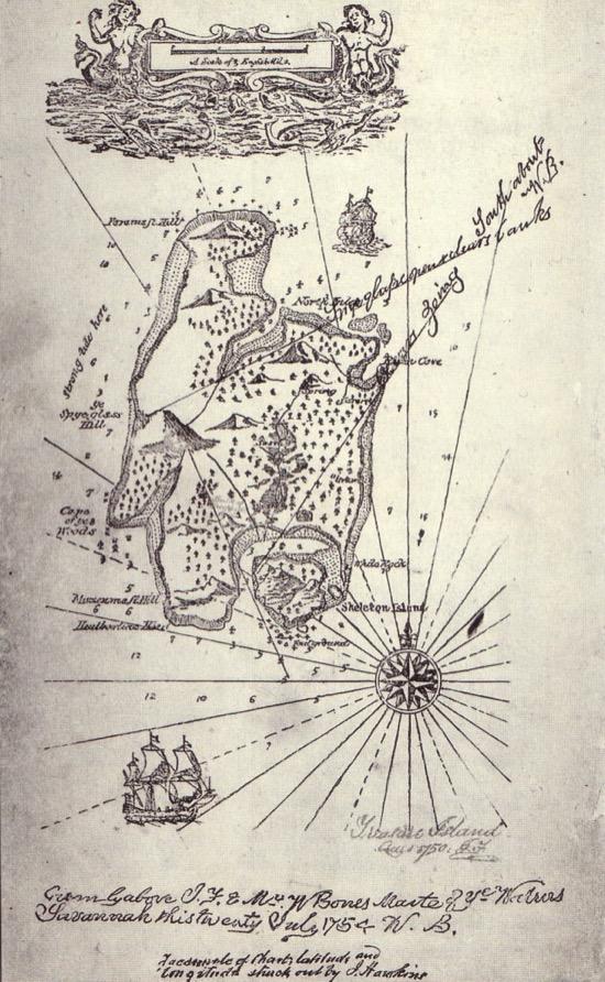 El curioso origen de La isla del Tesoro