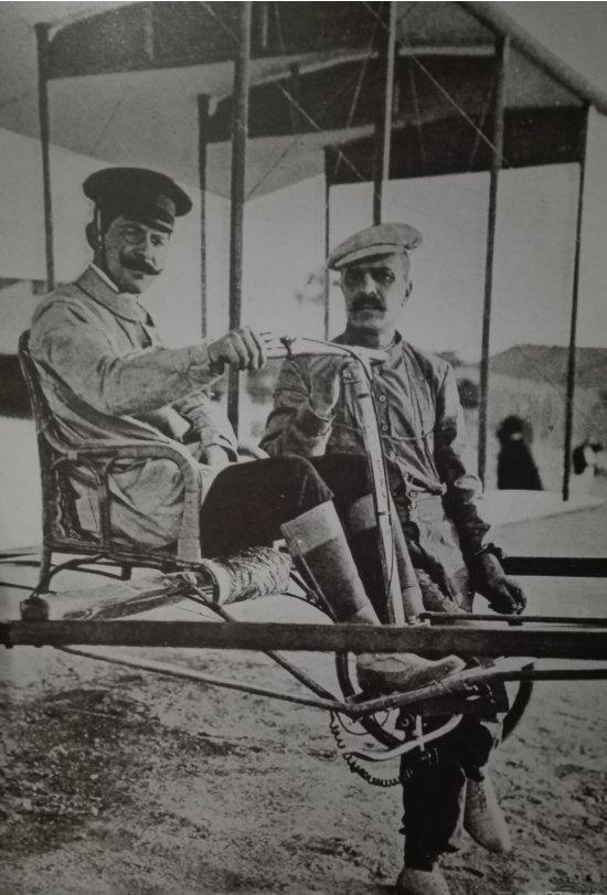 Juan Olivert, el pionero de la aviación que apagó el motor