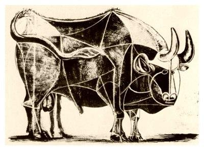 La destrucción del toro, por Picasso