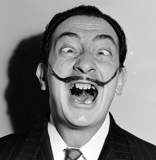 10 sorprendentes y geniales retratos de Dalí