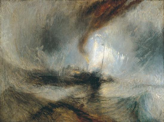 Atado al mástil, en la tormenta, por amor al arte