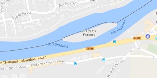 La isla de los Faisanes, 6 meses francesa y 6 meses española