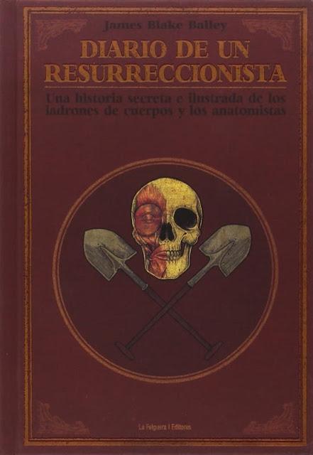Diario de un resurreccionista, de James Blake Bailey