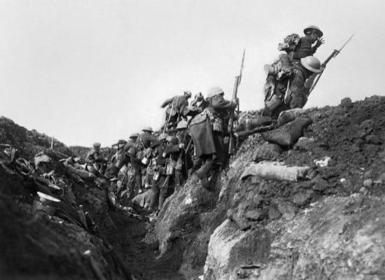 Los soldados que jugaron al fútbol en la batalla del Somme