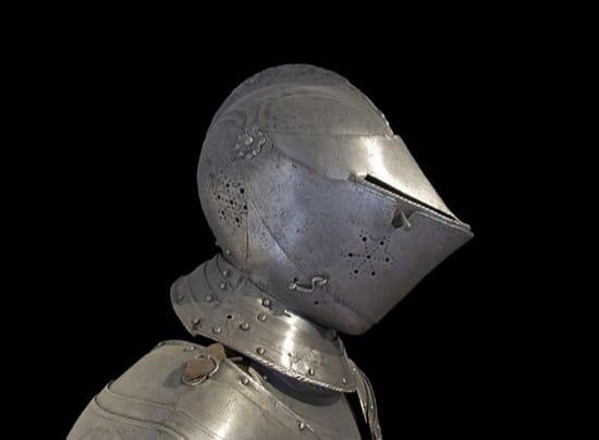 La geometría y los cascos medievales