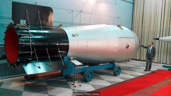 La Bomba del Zar, la prueba nuclear más brutal de la historia