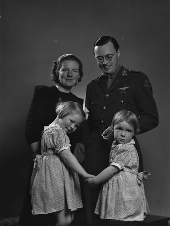 La habitación que fue holandesa en Canadá durante la Segunda Guerra Mundial