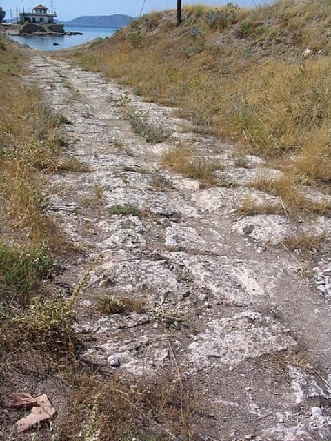Diolkos, el tren griego de hace 25 siglos