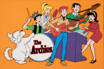 The Archies, una banda virtual de dibujos animados que llegó al número uno