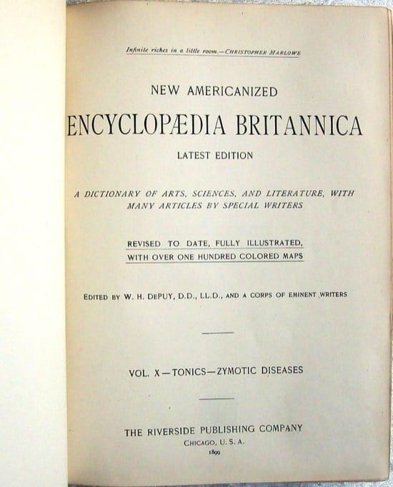 ¿Es de fiar la Enciclopedia Británica? Un hombre la estudió durante años y escribió un libro con sus errores